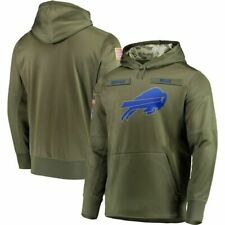 Buffalo Bills Service Sideline Therma Performance Pullover Hoodie 2019