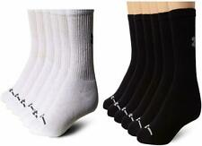 Under Armour Men's Charged Cotton Crew Socks (6 Pack) - Choose SZ/Color