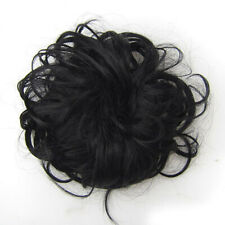 Thick Messy Bun Hair Piece Scrunchie Updo Wrap Hair Extensions Real As Human CA