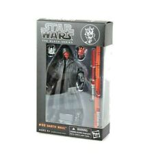 6 Action Figure Darth Maul Star wars the Black Series Kids gifts toy in box