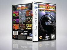 Mortal Kombat II - Saturn - Remplacement - Cover/Case - NO Game