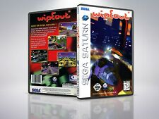 Wipeout - Saturn - Replacement - Cover/Case - NO Game