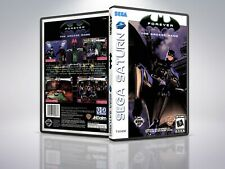 Batman Forever: The Arcade Game - Saturn - Replacement - Cover/Case - NO Game