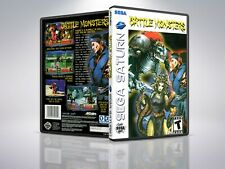 Battle Monsters - Saturn - Replacement - Cover/Case - NO Game