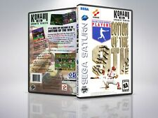 Konami : Bottom Of The 9th - Saturn - Replacement - Cover/Case - NO Game