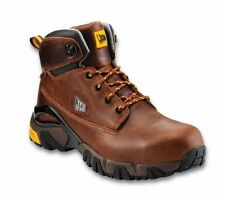 JCB 4X4/H Safety Work Boots Steel Toe Cap Brown