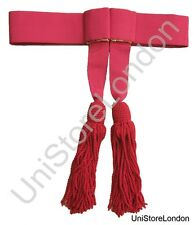 Sash Crimson Officers Ceremonial Belt With Tassels R469