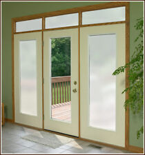 FROSTED GLASS PRIVACY WINDOW FILM ETCH FABLON 4FT WIDE!