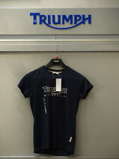GENUINE Triumph Ladies Logo #2 Navy T Shirt  BNWT 50% OFF