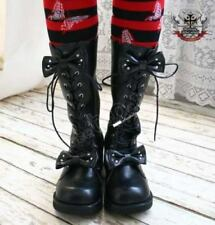 Handmade Gothic Sweet Princess Lolita Cosplay BJD Winter Boots (size 22.5-27)