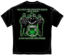 All Men are created equal a few become brothers America's Finest Irish Police