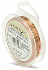 BEADALON ARTISTIC WIRE - 26 gauge 0.4mm Standard Colours