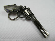 SCALE MODEL COLLECTORS REPLICA REVOLVER KEYRING HAND GUN MACHINE GUN PISTOL GIFT