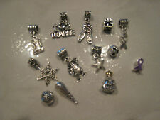 European Style Charm Beads & Spacers Many Themes