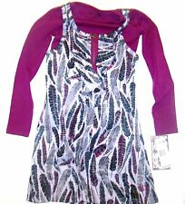 NWT GIRLS HURLEY TOUGH LOVE LONG SLEEVE L/S DRESS XS L X-SMALL LARGE 4T
