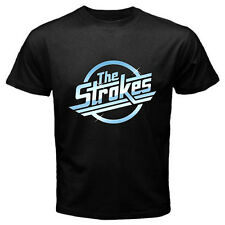 New THE STROKES Metal Punk Rock Band Mens Black Tee T-Shirt Size S - 3XL