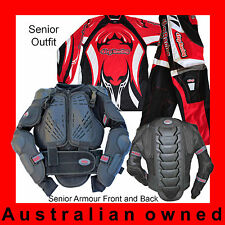 MOTOCROSS Track-Pack Senior (Body Armour, Pants, Jersey). Great Motox pack.