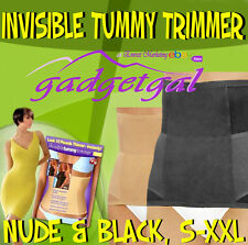 Invisible Tummy Trimmer / Slimmer, Body Shapewear in Nude or Black S M L XL XXL