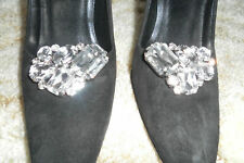 Bold Crystal Sparkling Shoe/Heel Clips NEW!