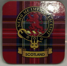 KEYTOTHECLANS: Scottish Gifts Clan Crested Coasters Gordon to MacLaren