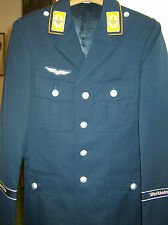 German airforce mens blue silver lined dress jacket tunic uniform Wachbataillon