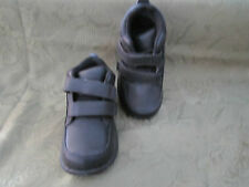 Toddler Boys Stride Rite Dustin Black Leather H&L Dress Boot Shoe Shoes