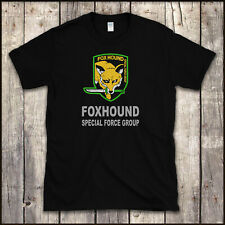 "METAL gear solid - ""groupe spécial Foxhound force' t shirt-Jeu Vidéo Xbox PS3"