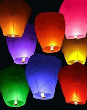 5pcs Sky Chinese Fire Lanterns wish for Party Wedding Birthday Xmas Gift