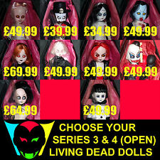 CHOOSE YOUR LIVING DEAD DOLL/DOLLS (SERIES 3 & 4)