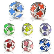 Butterfly Silver European Spacer Charm Bead For Bracelet Necklace