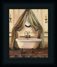 Classical Bath II Traditional Bathroom Spa Framed Art Print Wall Décor Picture