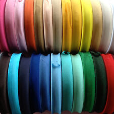 "5M BEST QUALITY COTTON BIAS BINDING-25 MM/1"" WIDE. CHOOSE FROM 27 COLOURS"