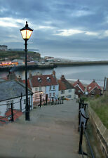 Limited Edition Original Print: Whitby Steps