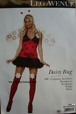 Adult Leg Avenue Sexy Daisy Bug Ladybug Fancy Dress Halloween Costume