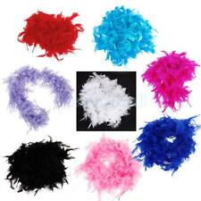 6.6 FEET LONG FEATHER BOA FLUFFY CRAFT DECORATION PARTY COSTUME DRESS UP PROP