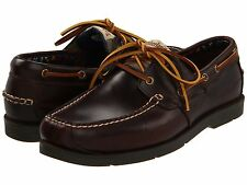 Men's Timberland Earthkeepers Kia Wah Bay Boat Shoe Brown Pull-Up Leather 5230R
