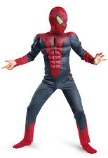 Amazing Spider-Man Movie Classic Muscle Child Costume