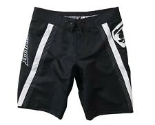 Jet Pilot Women's Rebound Ride Shorts Swim Suit Trunks Board Black/White