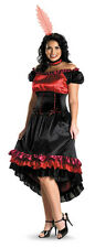 Can Can Plus Size Womens Sexy Halloween Costume