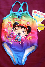 INFANT/BABY GIRLS NIHAO KAI-LAN SWIMSUIT WITH UPF 50+  SIZE 24 MONTHS   NWT