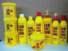 Care Free Curl Hair Products - For Natural Looking Hair Styles and Waves