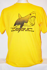 I THINK WE NEED A BIGGER BOAT JAWS QUOTE T-SHIRT M/L/XL VARIOUS COLOURS
