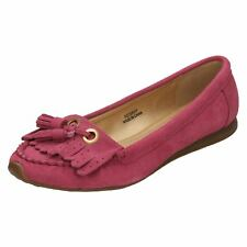 LADIES DOWN TO EARTH FRINGED MOCCASIN STLYE F8768 . SIZES 4-7  £26.99