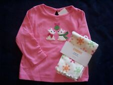 NWT Girl's Gymboree Cheery All The Way dog shirt & leggings 6 12 18 24 months 4T