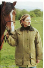 Ladies Derby Tweed Quilted Heavy Weight Field Country Jacket, Coat