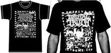 BRUTAL TRUTH Extreme Conditions Demand Extreme Responses SHIRT Earache Classic