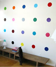 POLKA DOTS - Vinyl Wall Art Decals Any Room Lounge, Bedroom, Kitchen