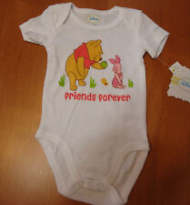 INFANT GIRLS DISNEY  POOH  FRIENDS FOREVER CREEPER SIZES 0/3-3/6 MONTHS NWT