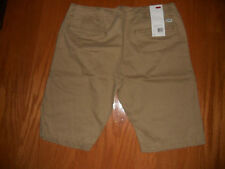 NWT Mens Levi Strauss Jeans Flat Front Modern Chino Short 100% Cotton ALL SIZES