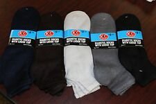Diabetic Ankle Socks 9-11 10-13 13-16  High Quality Lots of Colors Smooth Touch